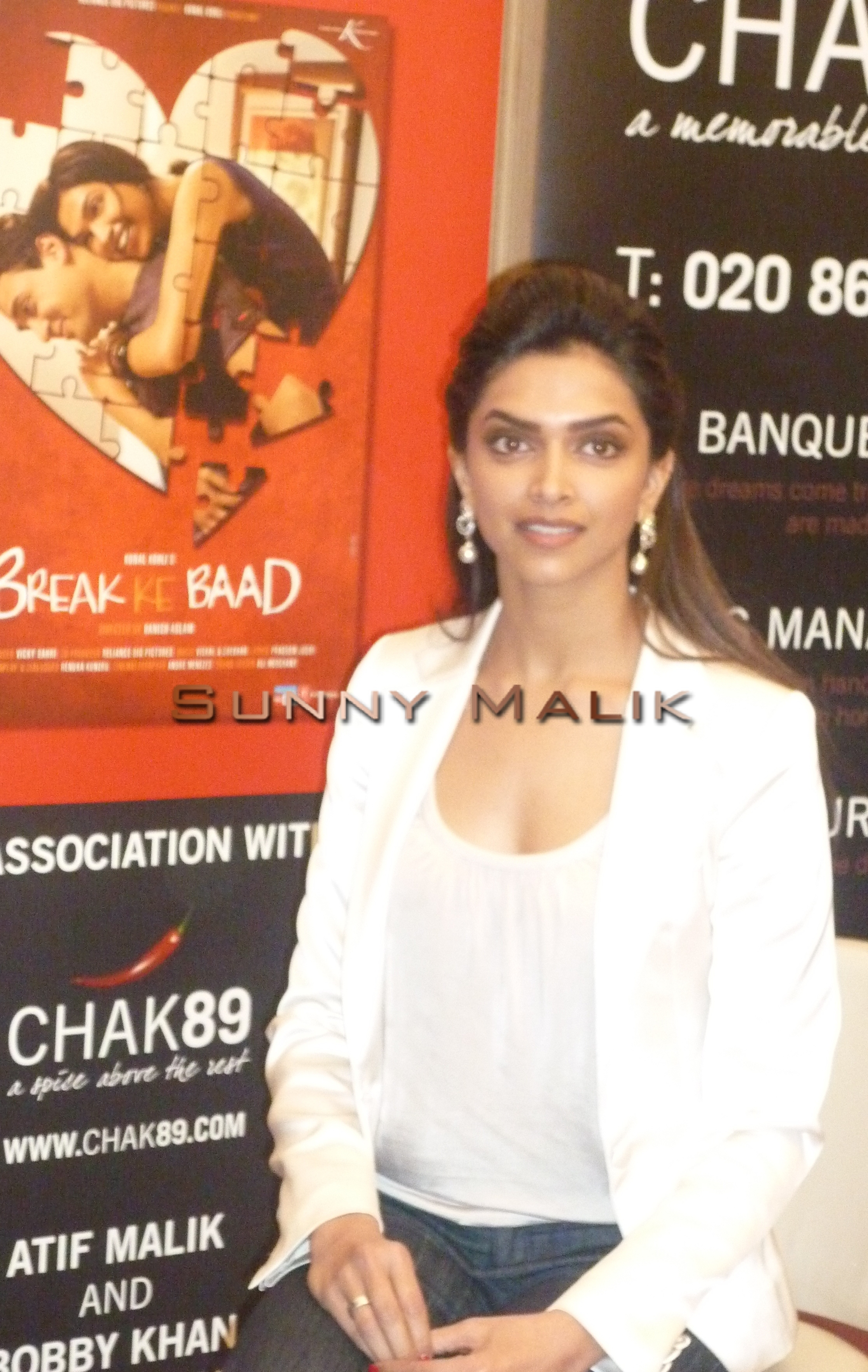 deepika padukone promoting break ke baad in london – bollywood news uk