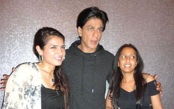 Shah Rukh Khan in London- Western Union