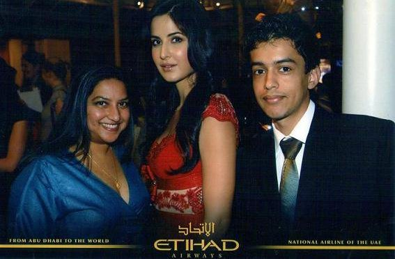 Katrina Kaif interview in London (Etihad Airways 2011)