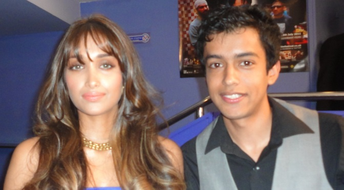 Tête-à-tête with Jiah Khan at the World Premier of Delhi Belly in London