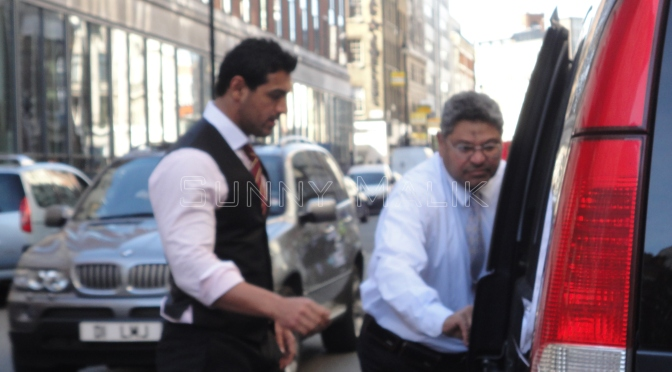 John Abraham to shoot 'Madras Cafe' in London