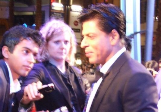 Ra.One in London- Twitter Pictures