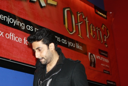 Abhishek Bachchan in London