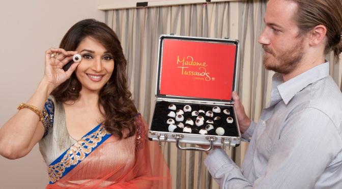 Madhuri Dixit gets her wax statue at Madame Tussauds!