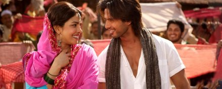 Shahid and Priyanka in Teri Meri Kahaani