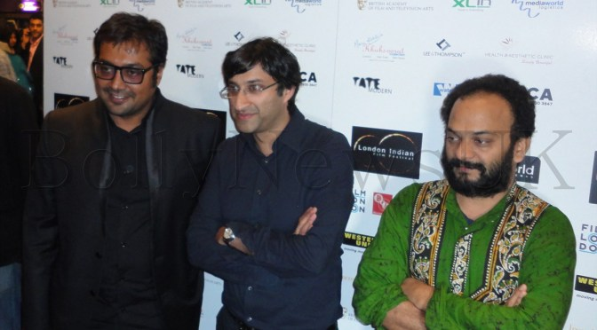 Spotted: Anurag Kashyap at London Indian Film Festival