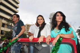Manoj,Huma Queshi and Richa Chadda