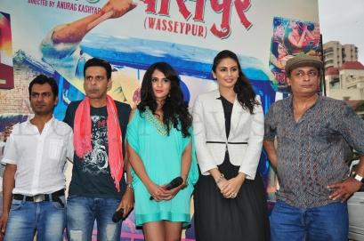 Nawazuddin,Manoj,Richa Chadda,Huma Qureshi and Piyush Mishra