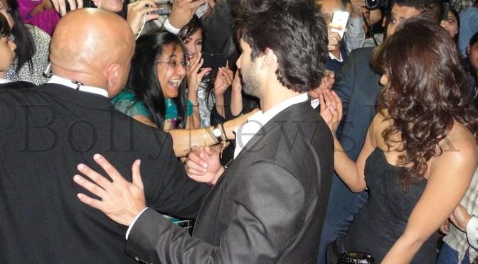 Spotted: Kunal Kohli, Priyanka Chopra and Shahid Kapoor at Cineworld, Feltham