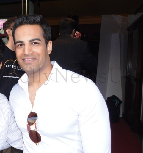 Upen Patel at the London Indian Film Festival