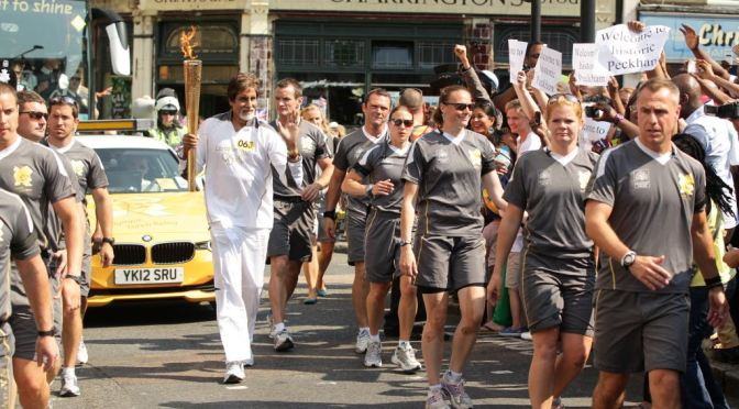 Interview: Amitabh Bachchan speaks about carrying the Olympic Torch