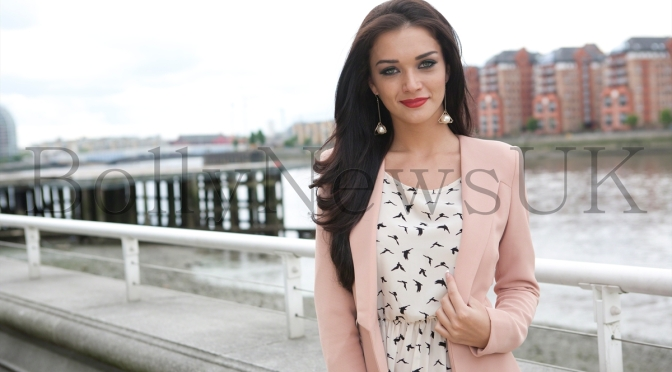 Spotted: British Bollywood actress Amy Jackson attends BAFTA