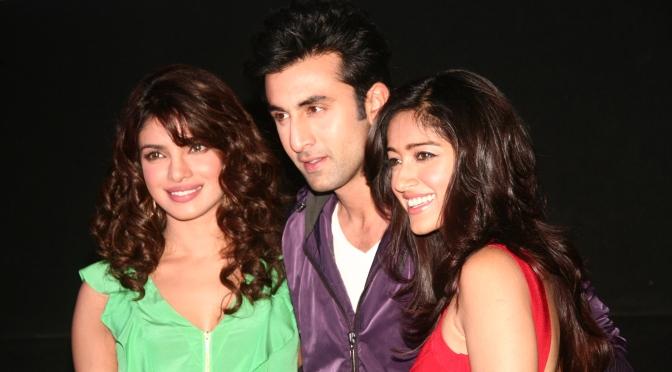 Ranbir Kapoor and Priyanka Chopra launch 'Barfi!' trailer