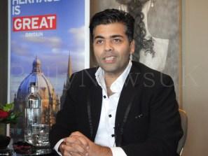 Karan Johar in London