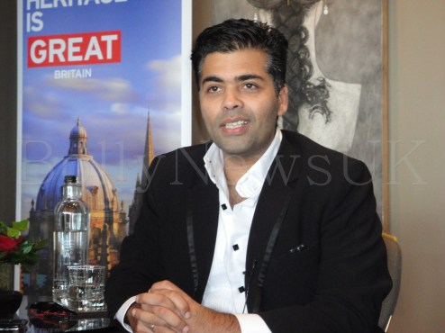 Karan Johar in London