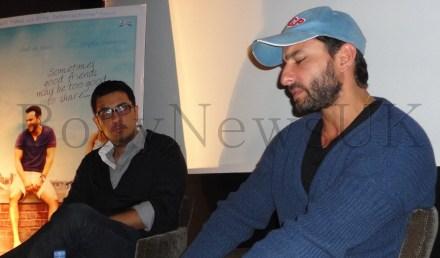 Saif Ali Khan promotes 'Cocktail' in London