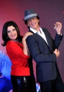 Shah Rukh and Farah Khan