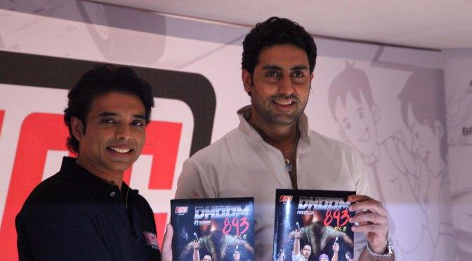 Uday Chopra launches YOMICS