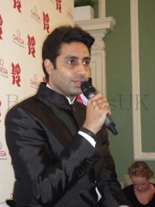 Abhishek Bachchan in London