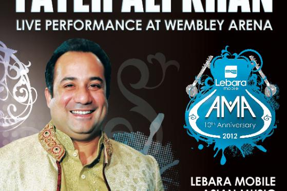 Rahat Fateh Ali Khan to headline 10th AMA