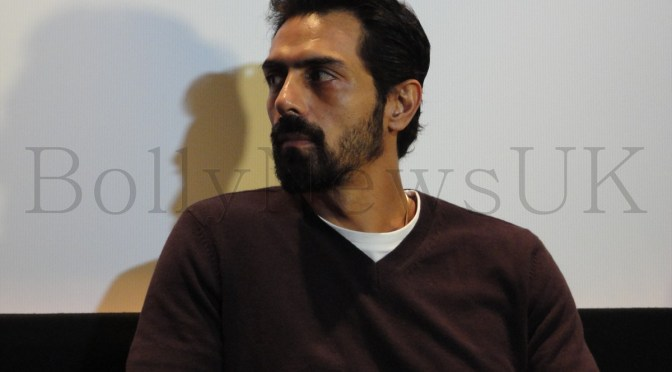 Spotted: Arjun Rampal, Prakash Jha and Abhay Deol in London