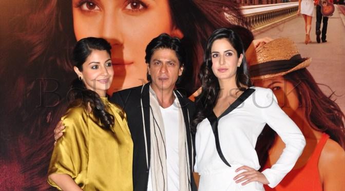 Spotted: Katrina Kaif, SRK and Anushka at 'JTHJ' Press Conference