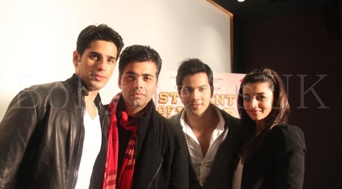 Karan Johar plans 'Student Of The Year' franchise