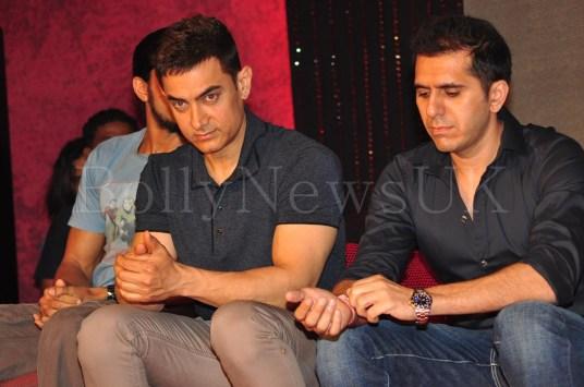Talaash Music Launch - Aamir Khan, Ritesh Sidhwani