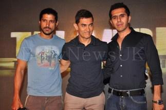 Talaash Music Launch - Aamir, Ritesh, Farhan