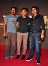 Talaash Music Launch - Aamir, Ritesh,Farhan