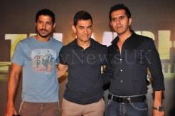 Talaash Music Launch - Farhan, Aamir, Ritesh