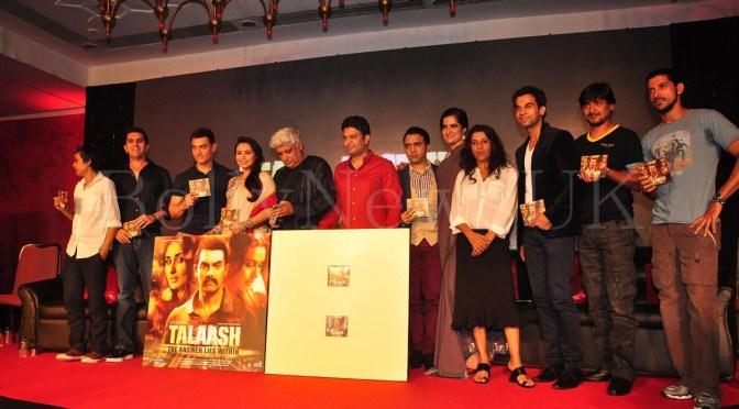 Photos: 'Talaash' music launch