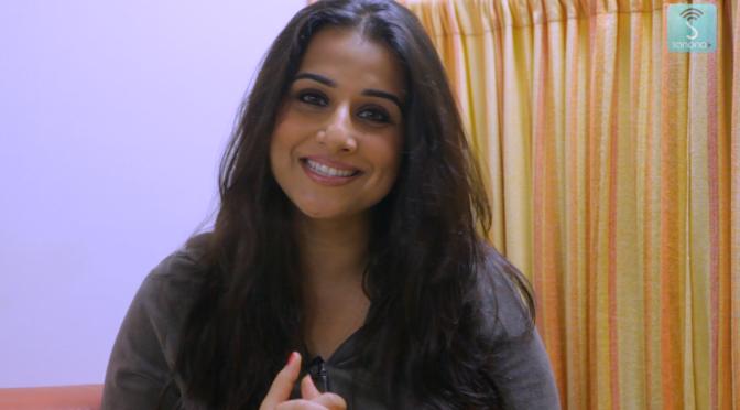 Interview: Vidya Balan supports Sanona