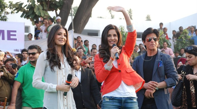 Photos: SRK, Katrina and Anushka promote 'JTHJ' in Jalandhar