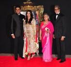 Jab Tak Hai Jaan - Premiere - Bachchan family