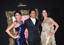 Jab Tak Hai Jaan - Premiere - Katrina Kaif, Shah Rukh Khan, Anushka Sharma