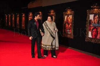 Jab Tak Hai Jaan - Premiere - Pamela Chopra, Uday Chopra