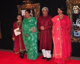 Jab Tak Hai Jaan - Premiere - Poonam Sinha, Javed Akhtar, Shabana Azmi