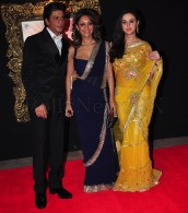Jab Tak Hai Jaan - Premiere - Shah Rukh, Gauri, Preity Zinta