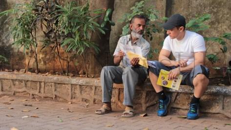 Aamir Khan with Kishore Kumar