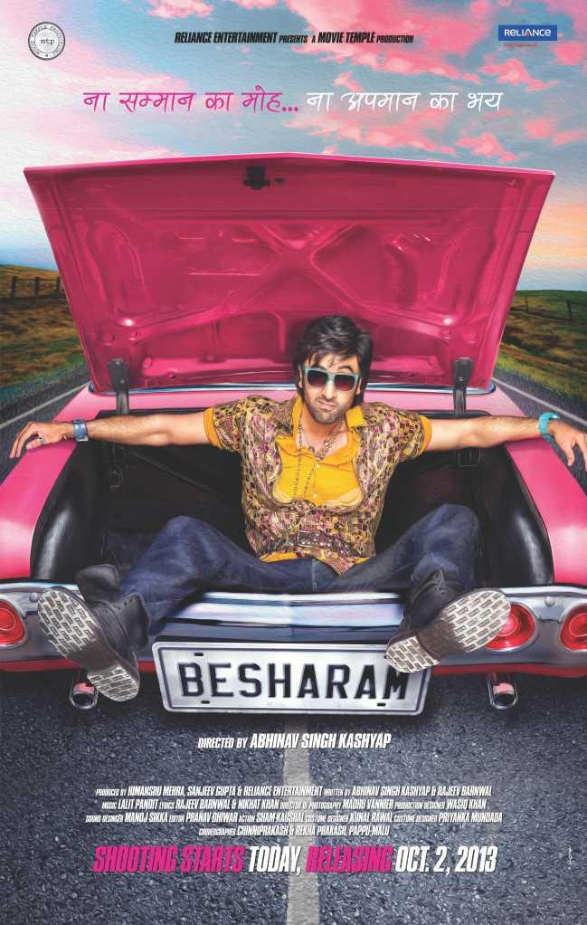 Besharam- First Look