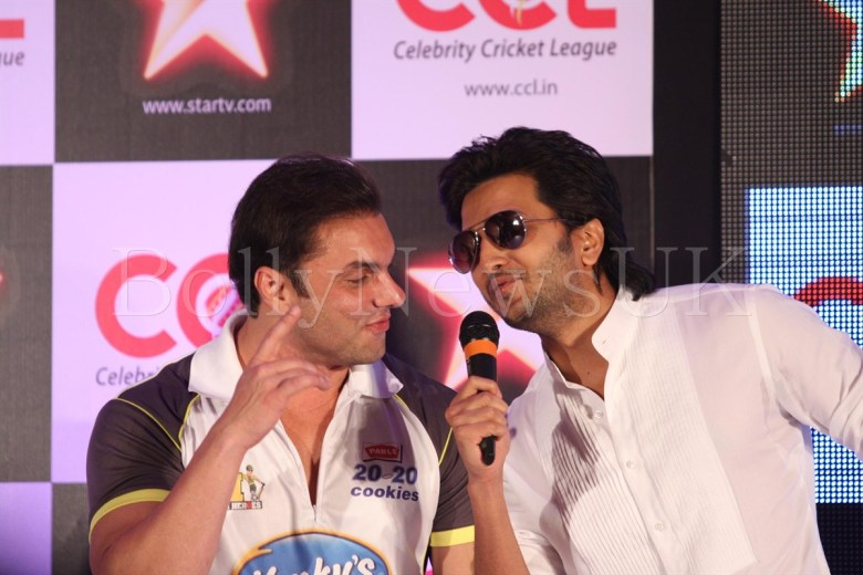 CCL - Sohail and Riteish