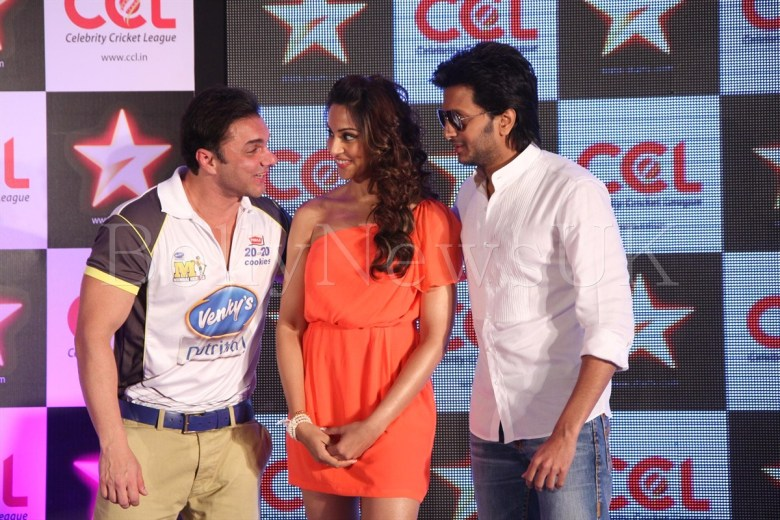 CCL - Sohail, Bipasha, Ritesh Deshmukh