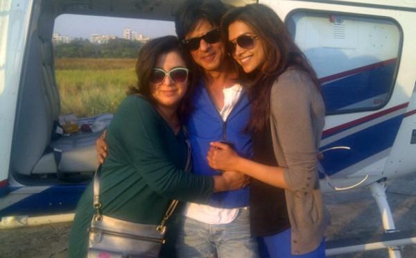 """""""SRK makes me feel special"""" – Deepika Padukone"""
