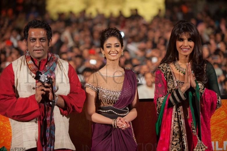 Anurag, Ileana and Priyanka