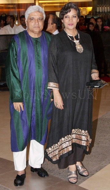Javed Akhtar, Shabana Azmi - Talaash screening