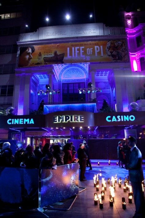Life Of Pi Premiere London