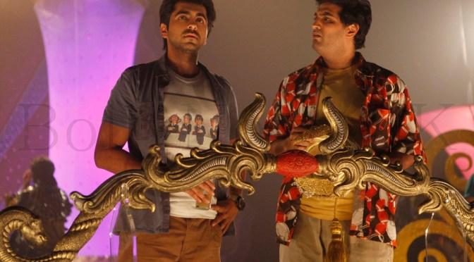 Ayushman Khurrana and Kunaal Roy Kapur in 'Nautanki Saala'