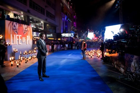 Rafe Spall -  Life Of Pi London Premiere