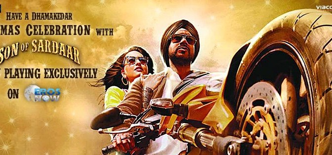 'Son of Sardaar' on Eros Now